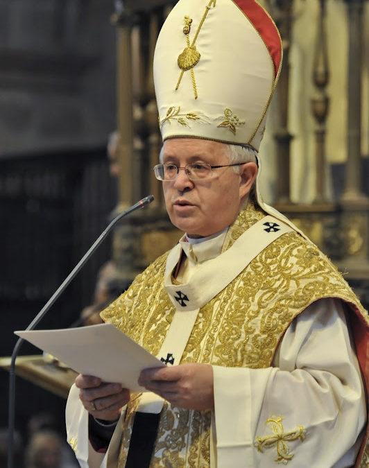 """Don Julián Barrio """"El sentido espiritual del Camino no se debe desvirtuar"""""""