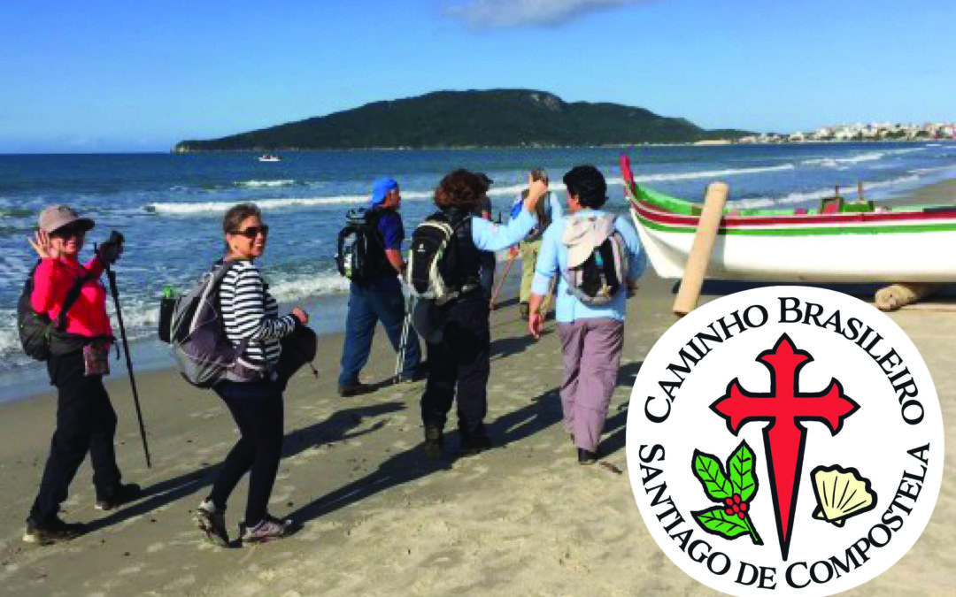 En Brasil caminan hacia Santiago