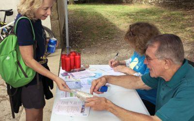 350 voluntarios de ACC acogieron a los peregrinos en 2018