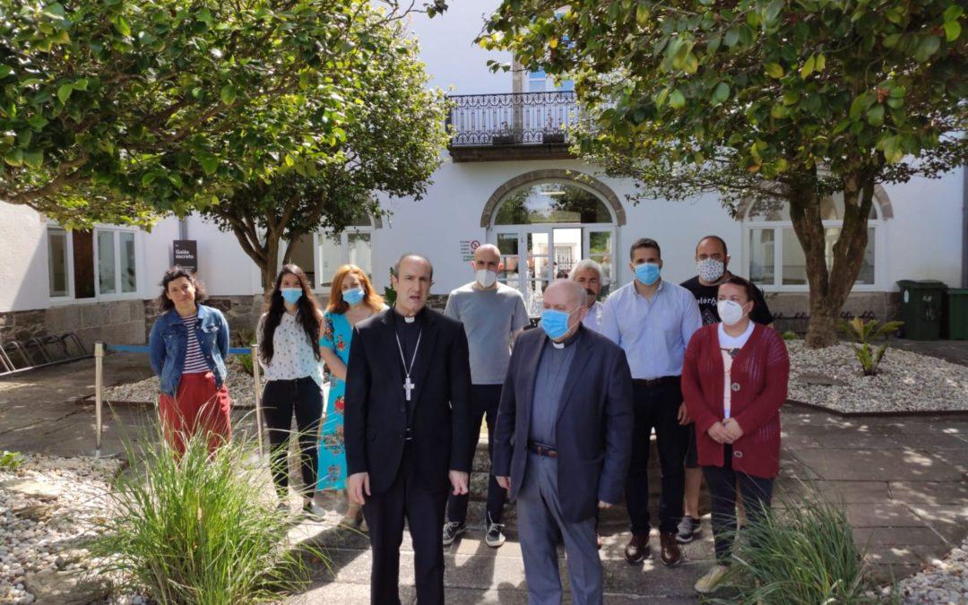 Agradecimiento al Obispo Jesús Fernández