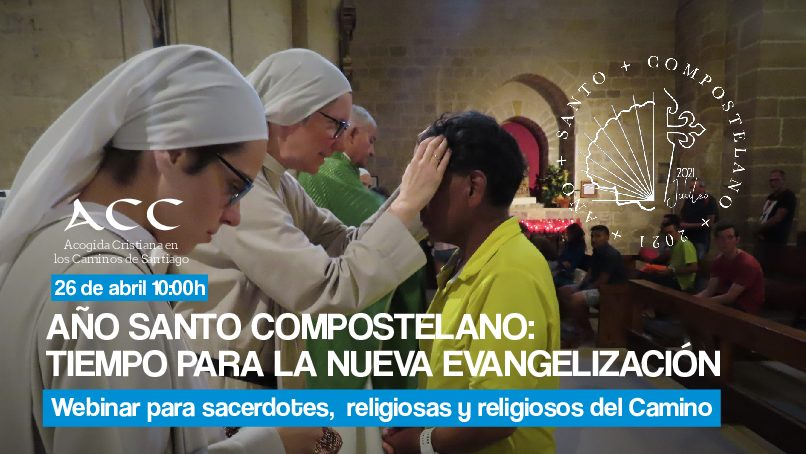 Abierta la inscripción al encuentro virtual de sacerdotes y religiosas del Camino